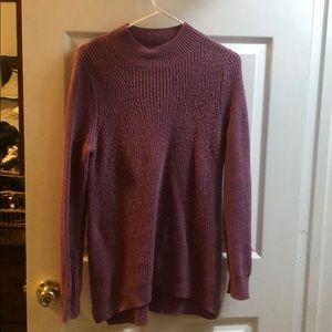 BP Nordstrom purple sweater